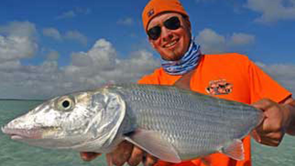 World class Bahamas bonefish