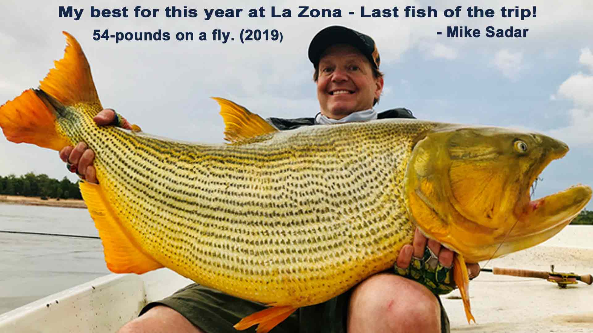 La Zona golden dorado fishing