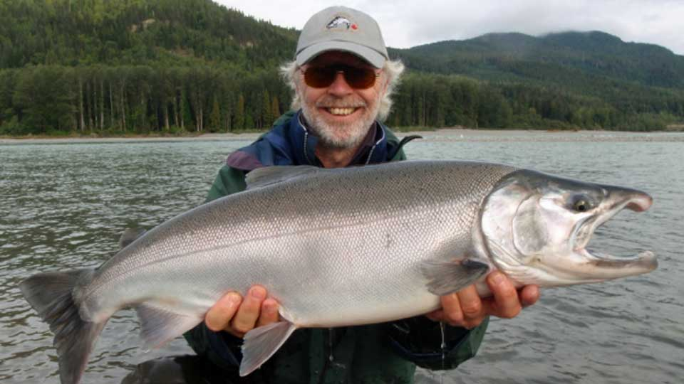 Skeena steelhead fishing