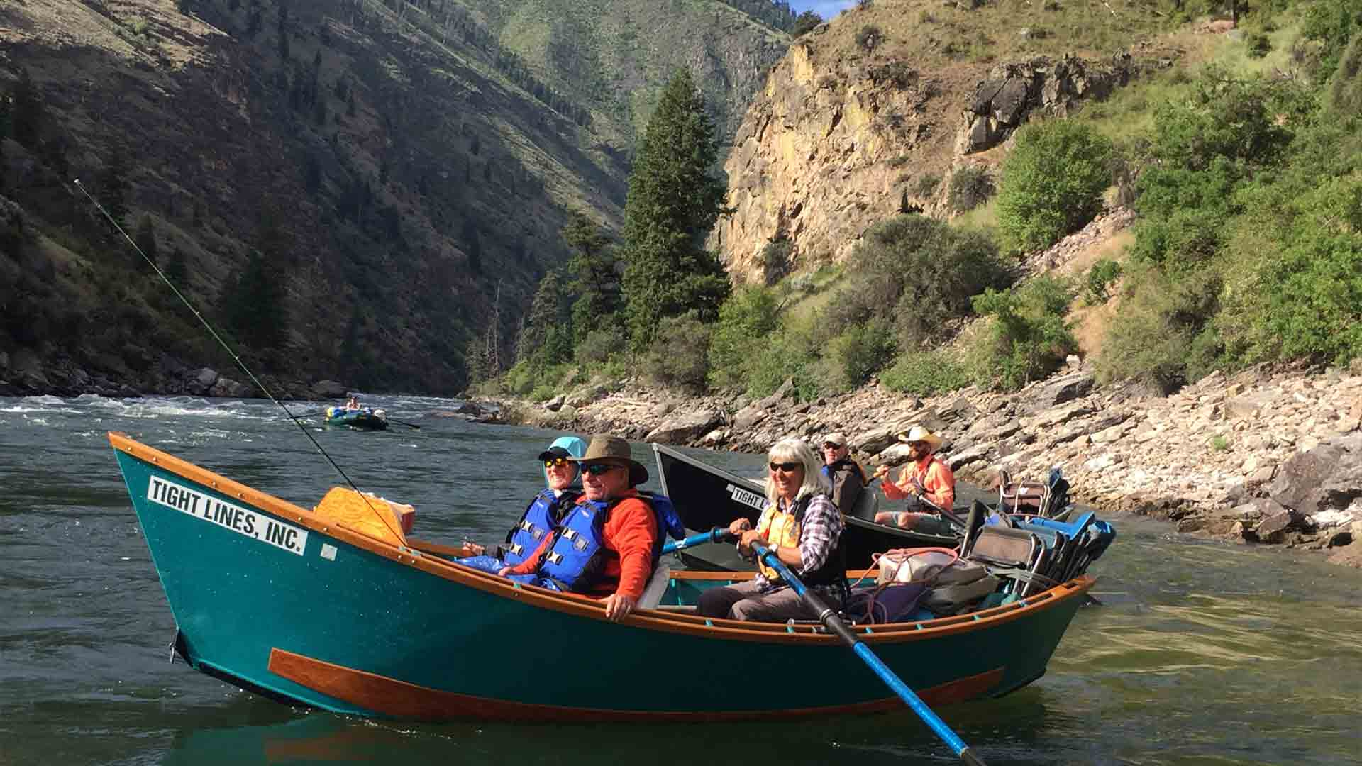 Anglers in McKenzie Drift Boats
