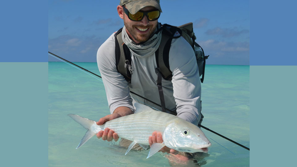 Nick Anderson with Bonefish
