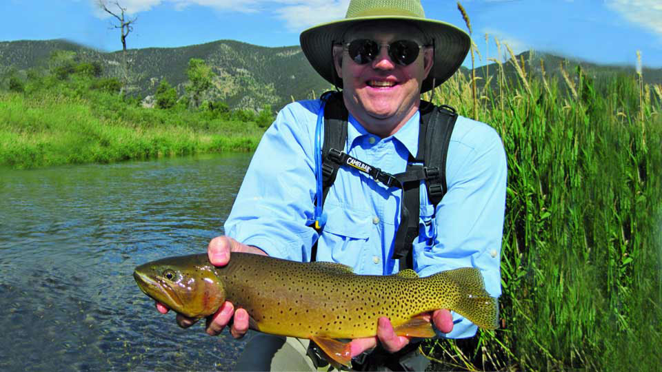 Flyfishing for Montana Browns