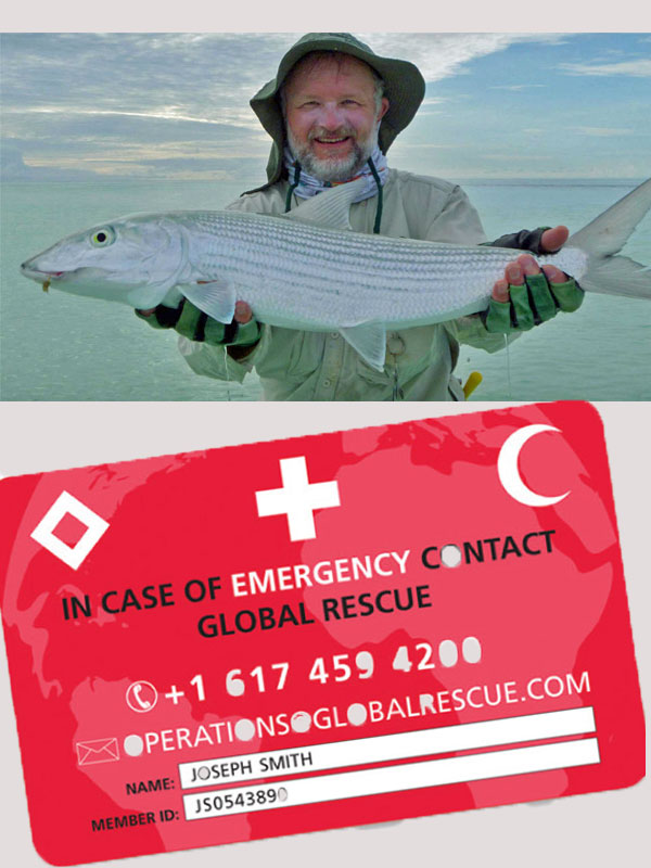 Guy Schoenborn with Christmas Island bonefish