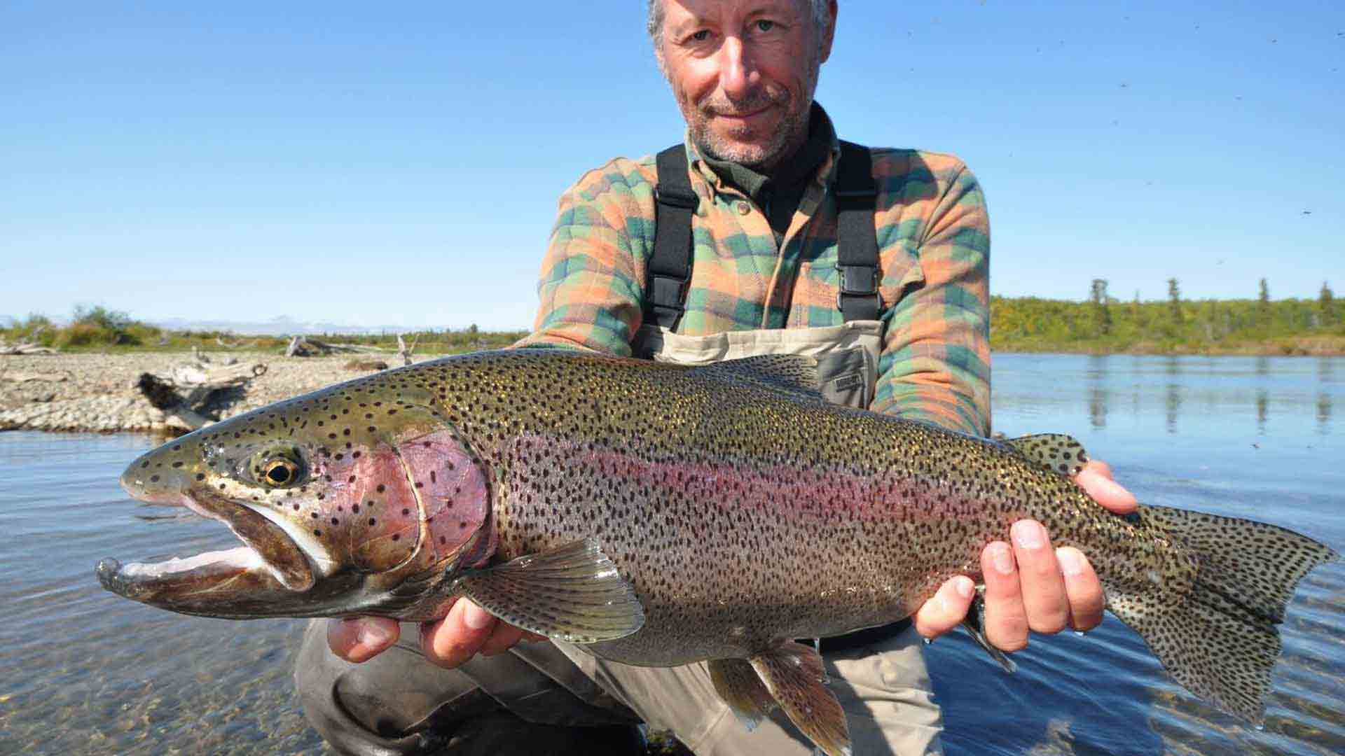 world-class rainbow fishing
