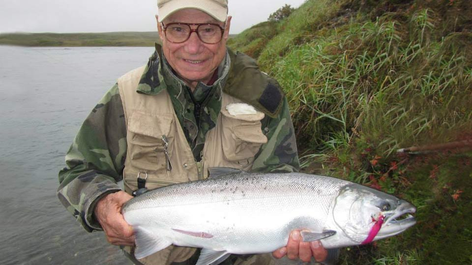 Blue Mt Lodge silver salmon