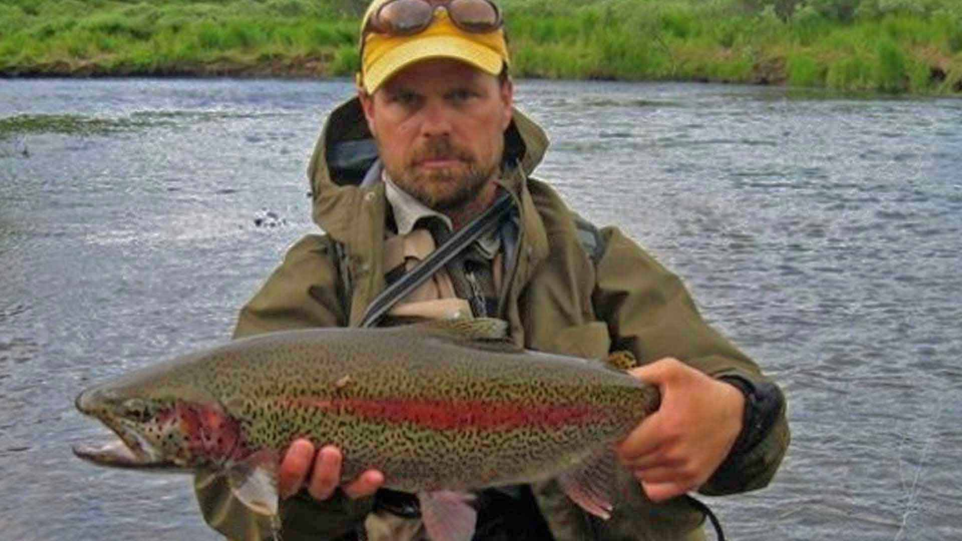 Alaska rainbow fishing