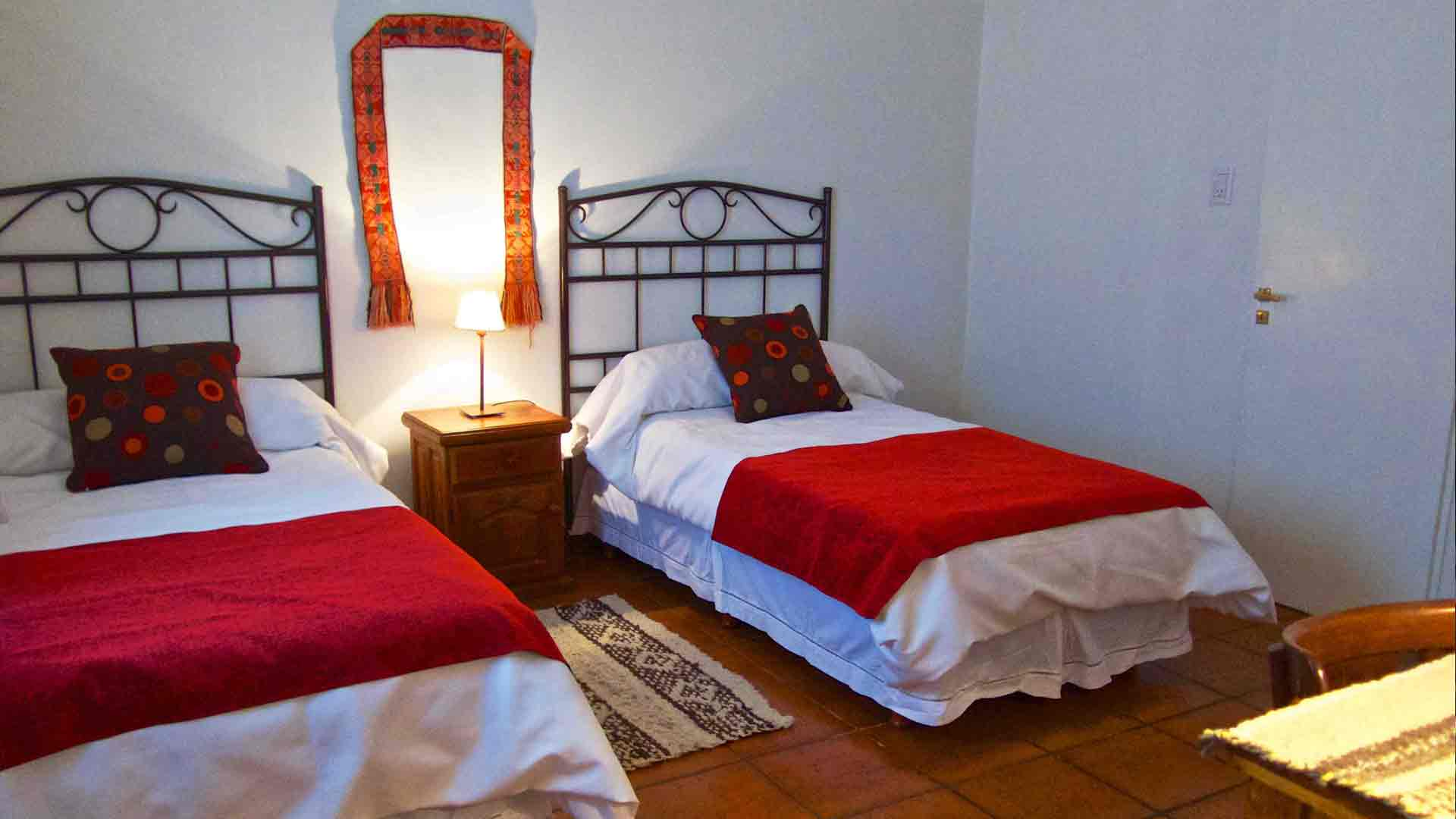 Capitán Lodge bedroom