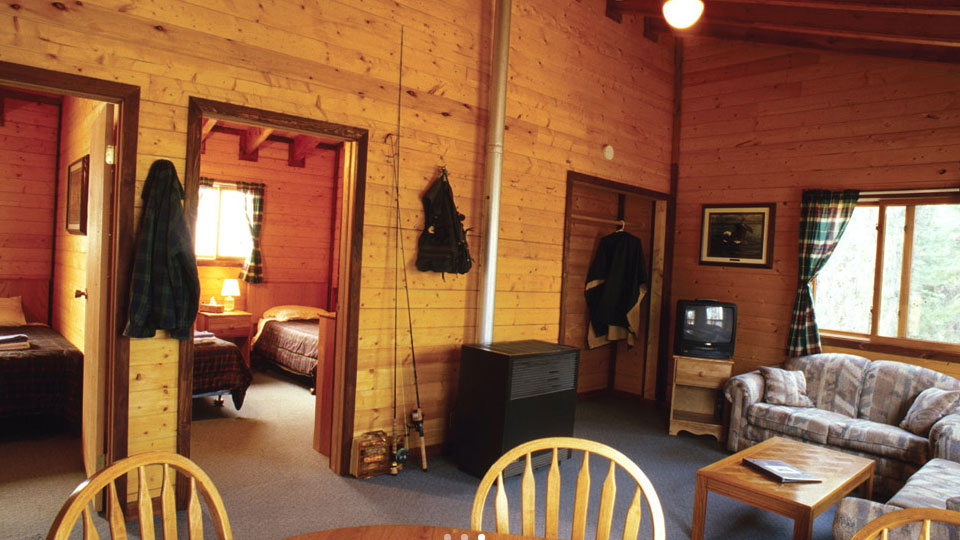 North Seal Lodge cabin
