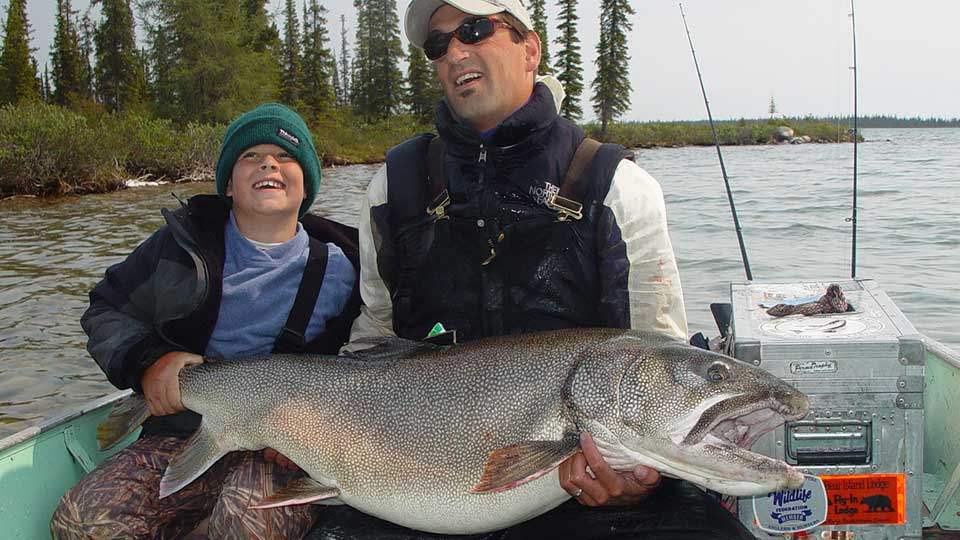 Plummer's lake trout fishing