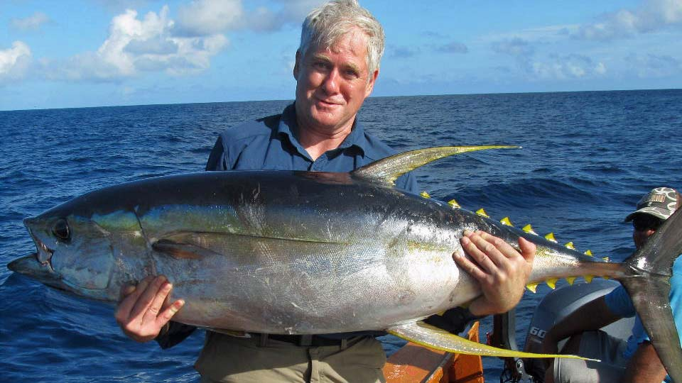 Christmas Island tuna fishing