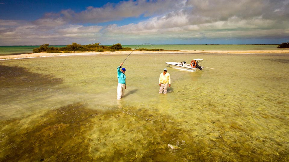 Cayo Cruz flats fishing