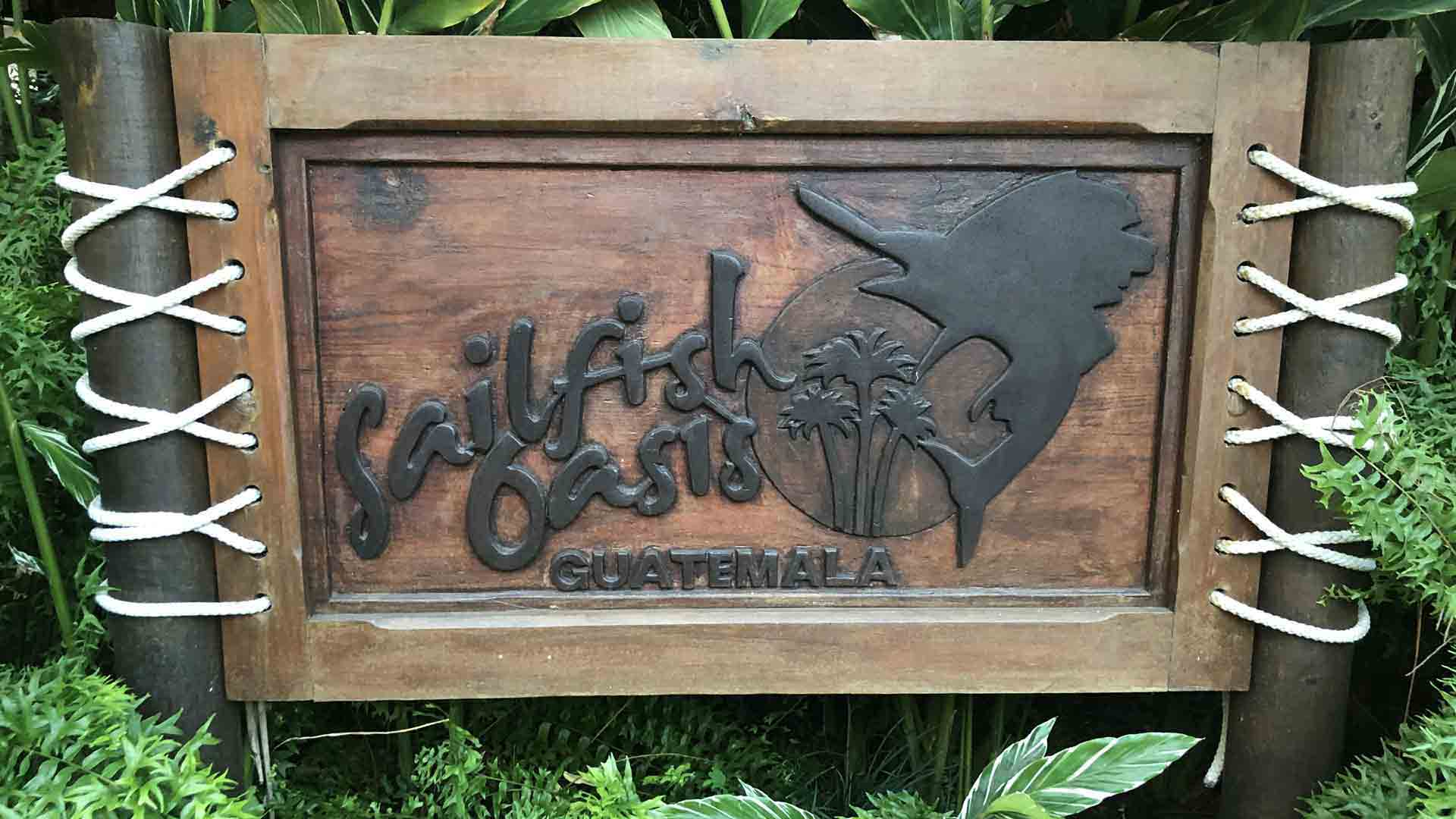 Sailfish Oasis Sign