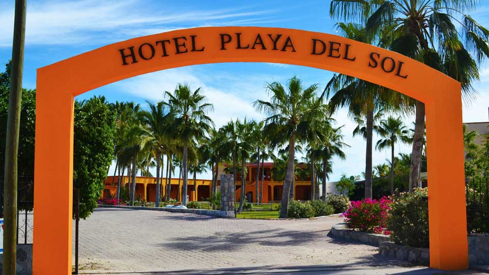 Arched Entry for Playa Del Sol